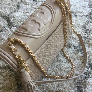 Tory Burch Fleming Leather Convertible ShoulderBag